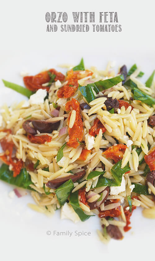 ... orzo salad orzo salad recipe orzo salad with lemon basil dressing two