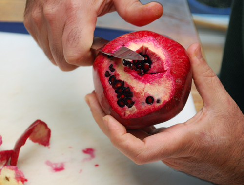 How To Seed A Pomegranate by FamilySpice.com
