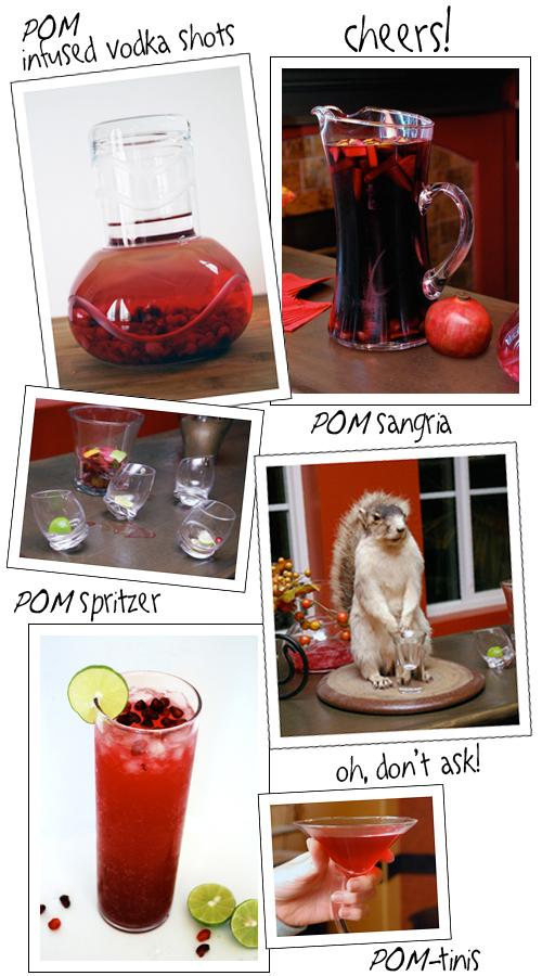 for My Very Special POM Party by FamilySpice.com