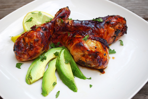 Drumsticks with with Chipotle Glaze by FamilySpice.com