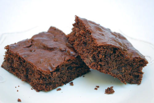 Gluten-Free Brownies, yes BROWNIES!