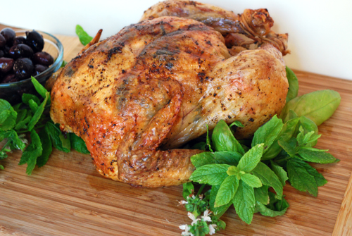 Greek Roast Chicken by FamilySpice.com