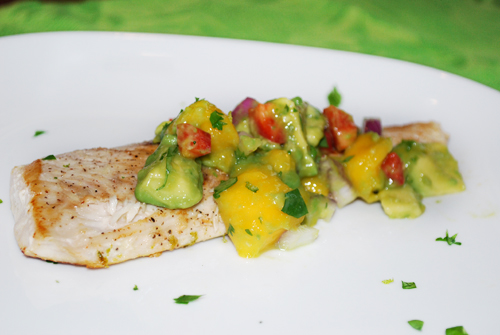 Family Spice Recipe for Mahi Mahi with Mango-Avocado Salsa