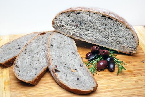 Kalamata Olive Rosemary Bread By Familyspice Com