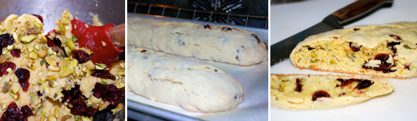 Pistachio Cranberry Biscotti and Macadamia Nuts by FamilySpice.com