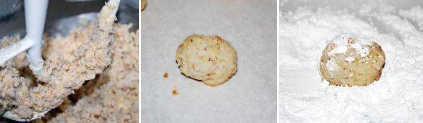 Sand Tarts. Mexican Wedding Cookies. Crescents. Delicious. (FamilySpice.com)