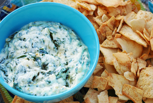 Yogurt and Spinach Dip (Borani-e Esfenaj)