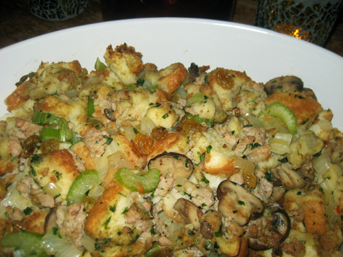 Stuffing with sausage recipes