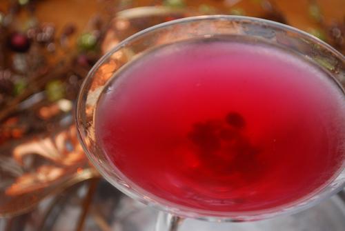 Pomegranate Martini for My Very Special POM Party by FamilySpice.com